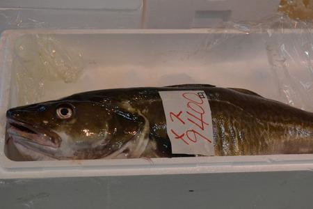 海鮮市場鱈