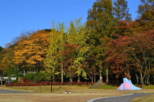 東平田さくら公園の秋