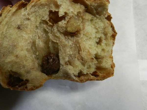 喜屋の天然酵母のぶどうパン