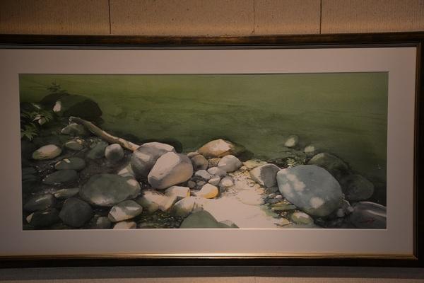 ヴィヨンの水彩画展