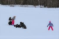 スキー(ソリ)教室
