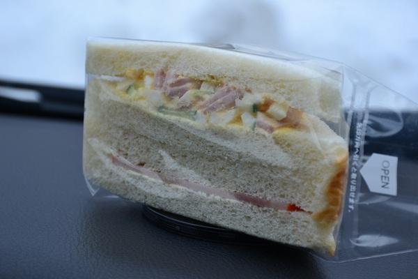 懐かしのサンドイッチ