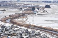 雪の八幡地区