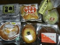 栗原甘泉堂の菓子たち