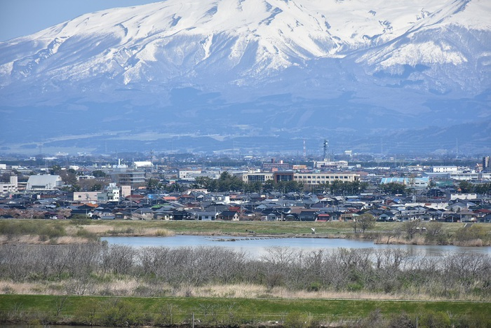 飯森山山頂からの眺め