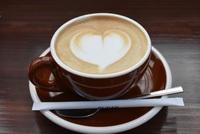 休憩にカフェラテ