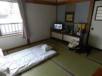 4人部屋に一人宿泊