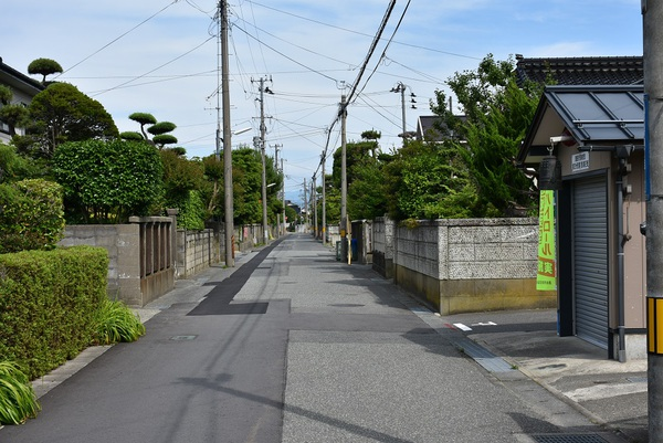 新井田橋からの鳥海山