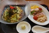 菜花の冷やし麺