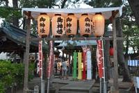 酒田駅前福徳稲荷さん夜会式