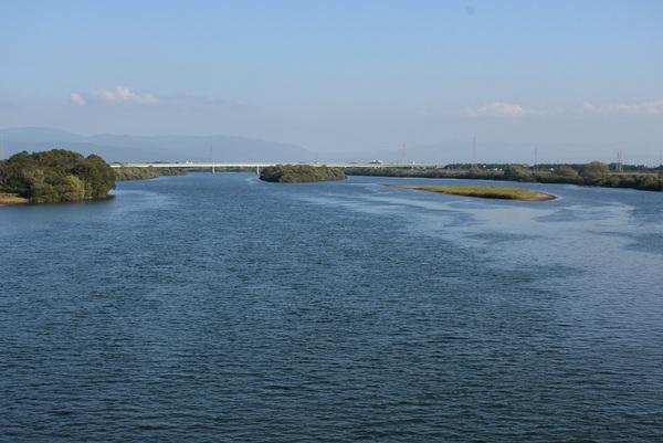 酒田市両羽橋を歩く