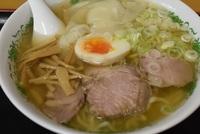 五十嵐製麺の塩ワンタンメン