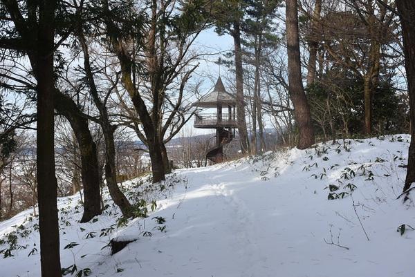 八森自然公園展望台からの鳥海山
