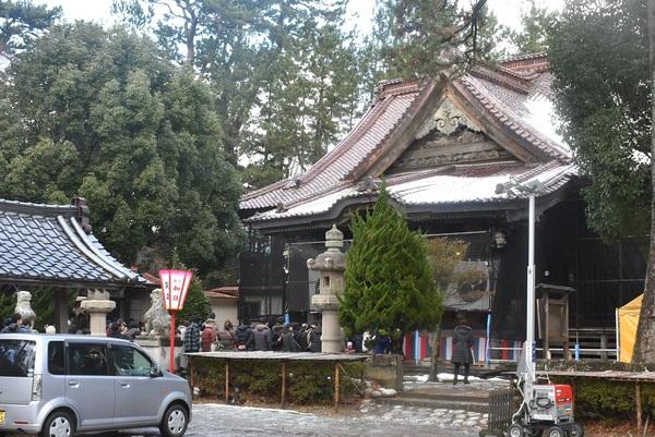 日枝神社初詣
