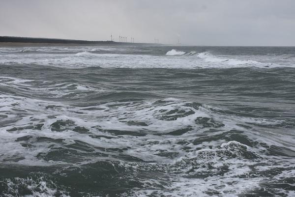 冬の吹浦海岸