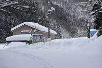 豪雪の玉簾の滝を行く 2018/01/31 08:17:00