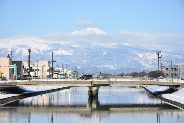 昨日の冬晴れ