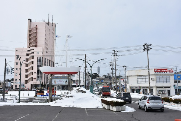 JR酒田駅前が生まれ変わる