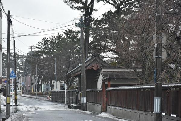酒田市寺町周辺