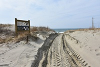 春まだ浅き浜中海岸