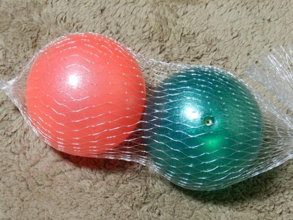 握力鍛錬のボール
