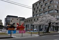 市役所前の大獅子参り 2018/04/18 08:03:00