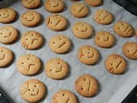 クッキーの笑顔・泣き顔・怒り顔・困り顔