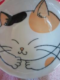 おそろいのミケ猫小鉢