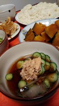 冷たい麺( ´艸`)