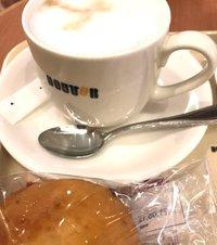 コーヒー苦かったー