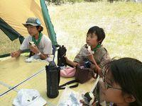 河川敷でキャンプ 2015/06/03 10:12:43