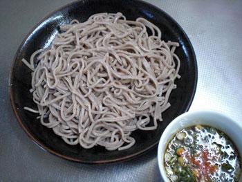大吉庵の蕎麦