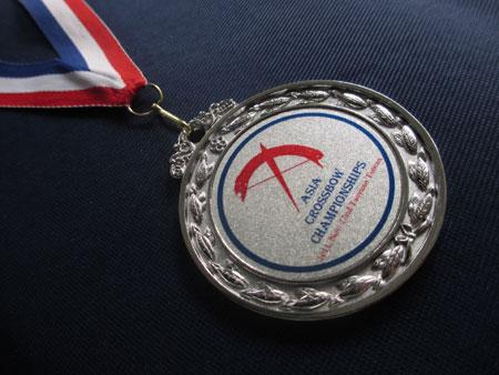 メダルだよ!