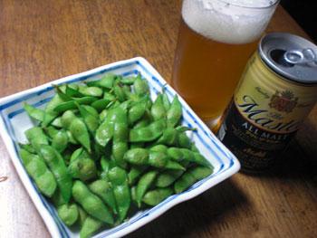 茗荷・枝豆