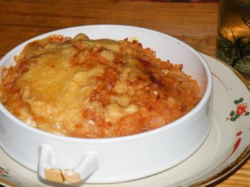 ドレミソドリアのチーズ焼き!(^^)!