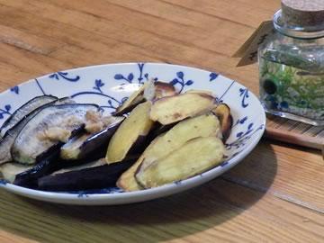 サツマイモのシンプル焼き