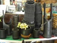 竹炭の飾り物