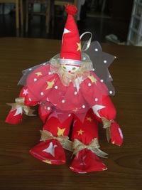 手作りピエロ人形