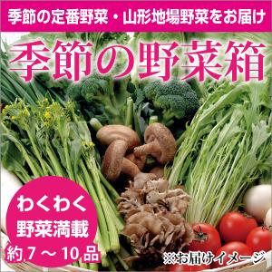 季節の野菜箱