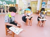 城南幼稚園 教室にて