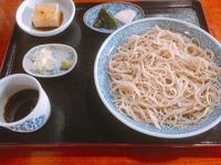 千利庵さんの100% 蕎麦粉の蕎麦 in 白鷹