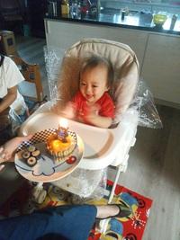 孫ちゃん誕生日!