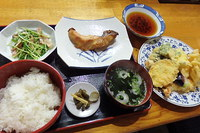 天ぷら焼魚定食 2016/06/04 17:17:31