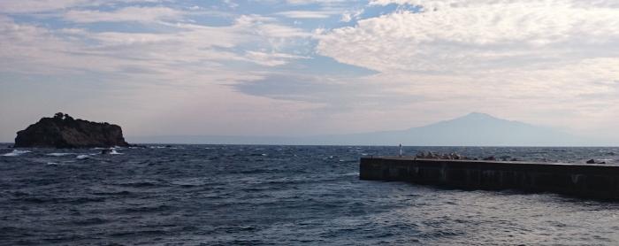 飛島でタコ釣り