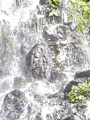胴腹の滝の川