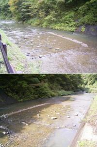 田沢川ダム、悲惨。