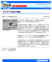赤川漁協のフィッシング詐欺