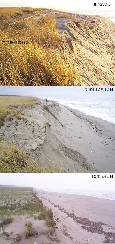 海岸の侵蝕