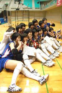 女子は米沢中央が6度目の優勝