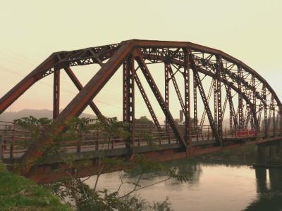 旧大蔵橋(右岸下流)